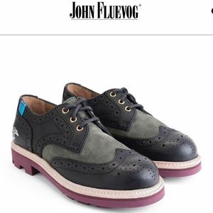 John Fluevog Michael sz 6 like new B5
